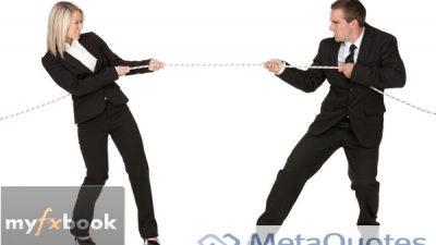 Компания MetaQuotes блокирует Myfxbook?